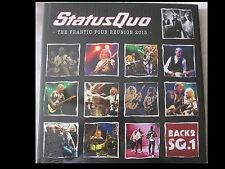 STATUS QUO the frantic four reunion 2013 BOXSET 3 CD 2 DVD 1 BLU-RAY Neu OVP