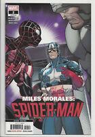 MILES MORALES SPIDER-MAN #2 (2nd PRINT) GARRON VARIANT Marvel 2019 NM- NM