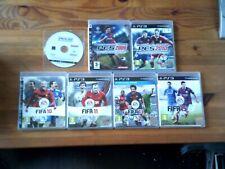 7x PS3 FOOTBALL GAMES - FAST POST - FIFA 10 11 13 15 & PES 2008 2009 2010