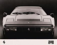 Ferrari 328 GTB Press Photograph B&W