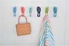 Outdoor Weatherproof Pvc Flip Flop Towel Rack / Pool Hat Beach House Hooks