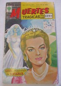 MUERTES comic EMPRESS ELISABETH of AUSTRIA SISSI Sisi DEATH ROMY SCHNEIDER cover