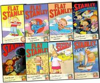 Flat Stanley 8 Books Collection Set