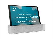 "LENOVO TAB M10 PLUS FHD 4+128GB WIFI 10,3"" Gray + SOUNDBAR CON ALEXA"