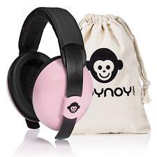 Gehörschutz Baby 0-2 Jahre | Baby Ohrenschützer Lärm | Lärmschutz Baby rosa