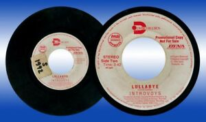 Philippines INTROVOYS Lullabye OPM 45 rpm PROMO Record