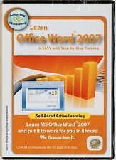 Amazing eLearning Learn Microsoft Office Word 2007 step-by-step training CD-ROM