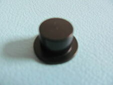LEGO 3878 @@ Minifig, Headgear Hat, Top Hat @@ BLACK @@ NOIR