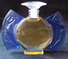 "LALIQUE Miniature Perfume Bottle (full) 1999 Ltd Ed ""Timeless/Day & Night"" Mini"