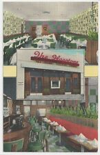 RARE LINEN: Chinese Restaurant located in Hempstead Long Island LI New York 1950