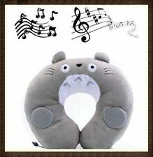 MP3 MP4 TRAVEL U SHAPED NECK SOFT MUSIC SOUND PLUSH PILLOW TOY FOR IPAD IPHONE