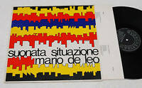 MARIO DI LEO:LP-SUONATA..1° PRESS 1977 ITALY PROGR NM