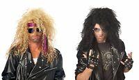 Adult Heavy Metal Rocker Bon Jovi Costume Wig