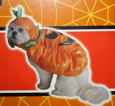 Pumpkin Pet Costume by Spooky Village, Size Medium, New with tags