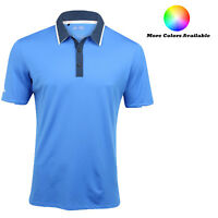 Adidas Golf ClimaCool Tipped Performance Polo Shirt - Pick Size and Color