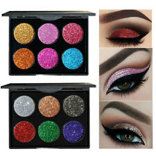 2 Style Shimmer Powder EyeShadow Glitter Eye Shadow Palette Makeup Pigments2017