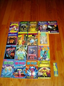 Lot of 17 Childrens pb books ~ Bone Chillers + Shivers + Fright Time + Dead Time