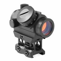 RDS-25 Red Dot Sight 4 MOA Micro Gun Sight Rifle Scope With 1 inch Riser Mount