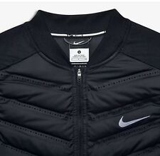 NIKE WOMENS AEROLOFT 800 DOWN RUNNING VEST #686199-010 BLACK Size XL $180 New!!!