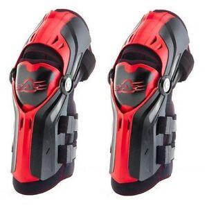 ACERBIS GORILLA HINGED KNEE GUARDS SHIN MOTOCROSS MX ENDURO CHEAP QUAD BRACE MTB