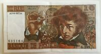 Billet De Banque 10 Francs Berlioz Du 2-6-1977 G.298 835164 1 Épinglage