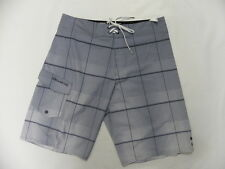 "Billabong Men All Day Plaid X Gray 21"" Platinum X Boardshorts Swimwear Sz 32"