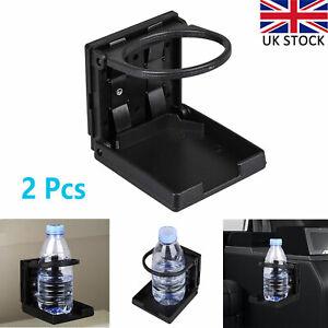 2PCS Folding Cup Holder Bottle/Can/Mug Drink Stand Mount for Car TRUCK BOAT VAN