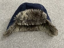 Next Blue Trapper Hat 3-4 Years