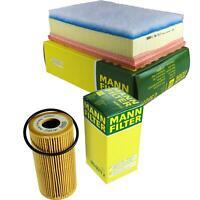 MANN-Filter Set Ölfilter Luftfilter Inspektionspaket MOL-9693857