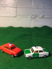 Vintage Nsu Tt Euro Modell Police Cars Made In Germany Polizei Miniature Ho Cars