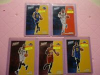 2017 PANINI THE NATIONAL ALL STAR LOT LEBRON JAMES,STEVE CURRY,IRVING,WESTBROOK,