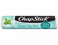 New! ChapStick Limited Edition Green Tea Mint, 100% Natural Lip Butter, 0.15 oz