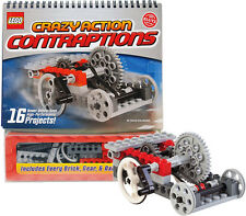 Klutz Lego Crazy Action Contraptions Craft Kit Create 16 Unique Projects Models