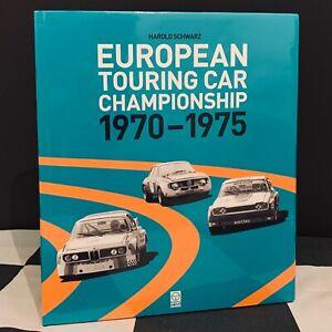 EUROPEAN TOURING CAR ETCC 1970-1975 BOOK BMW 3.0 CSL ZAKSPEED CAPRI CAMARO Z28