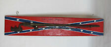 Antique Martini Henry Socket Bayonet Scabbard Mounted Painted Flag Cross Stars
