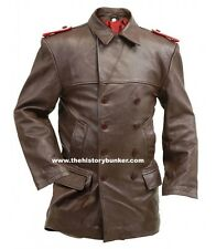 WW2 German Uboat leather Deck jacket brown - Made to your sizes
