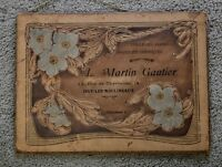 Antique French Cardboard Salesman Portfolio Advertising L MARTIN GAUTIER Produit