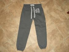 Girls Abercrombie & Fitch Gray Joggers Sweatpants Size S