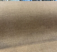 100% Belgian Linen Libeco Chalet Sepia Brown Fabric By the Yard