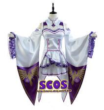 ReZero Starting Life in Another World Emilia Cosplay costume