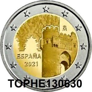 """ESPAGNE COMMÉMORATIVE 2021 """" VILLE DE TOLEDE """" 2 EURO - NEUVE UNC -"""