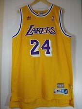 Los Angeles Lakers Kobe Bryant Yellow #24 Hardwood Classics Jersey Throwback XXL