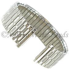 16-22mm Speidel Twist-O-Flex Silver Straight End Stainless Watchband 1366/02 L
