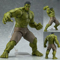 Avengers Figma 271 Hulk Anime Movable Action Hero Figure Toy Doll Model