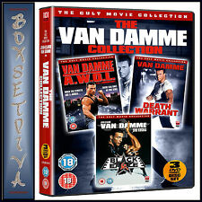THE VAN DAMME COLLECTION - 3 FILM CULT COLLECTION **BRAND NEW DVD***