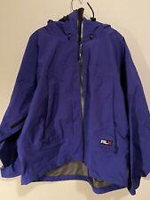 RLX Polo Sport Goretex Ski Snow Parka Jacket Water Resistant Large Vtg