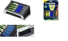 VARTA Ladegerät LCD Ultra Fast Charger, inkl. 4 x AA Akkus
