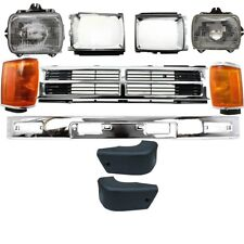 Grille Bumper Headlamp Front for Toyota 4Runner 1987-1989 TO1200133 5211189146