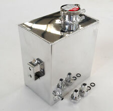 Universal Aluminum Radiator Overflow Recovery Tank For Holden HQ HJ HX HZ WB