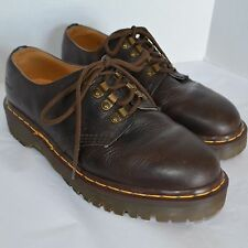 VTG Dr. Martens Originals Oxfords AirWair Mens Brown Leather Shoes US 10 UK 9